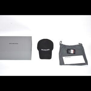 (Genuine) Balenciaga Hat Black/White